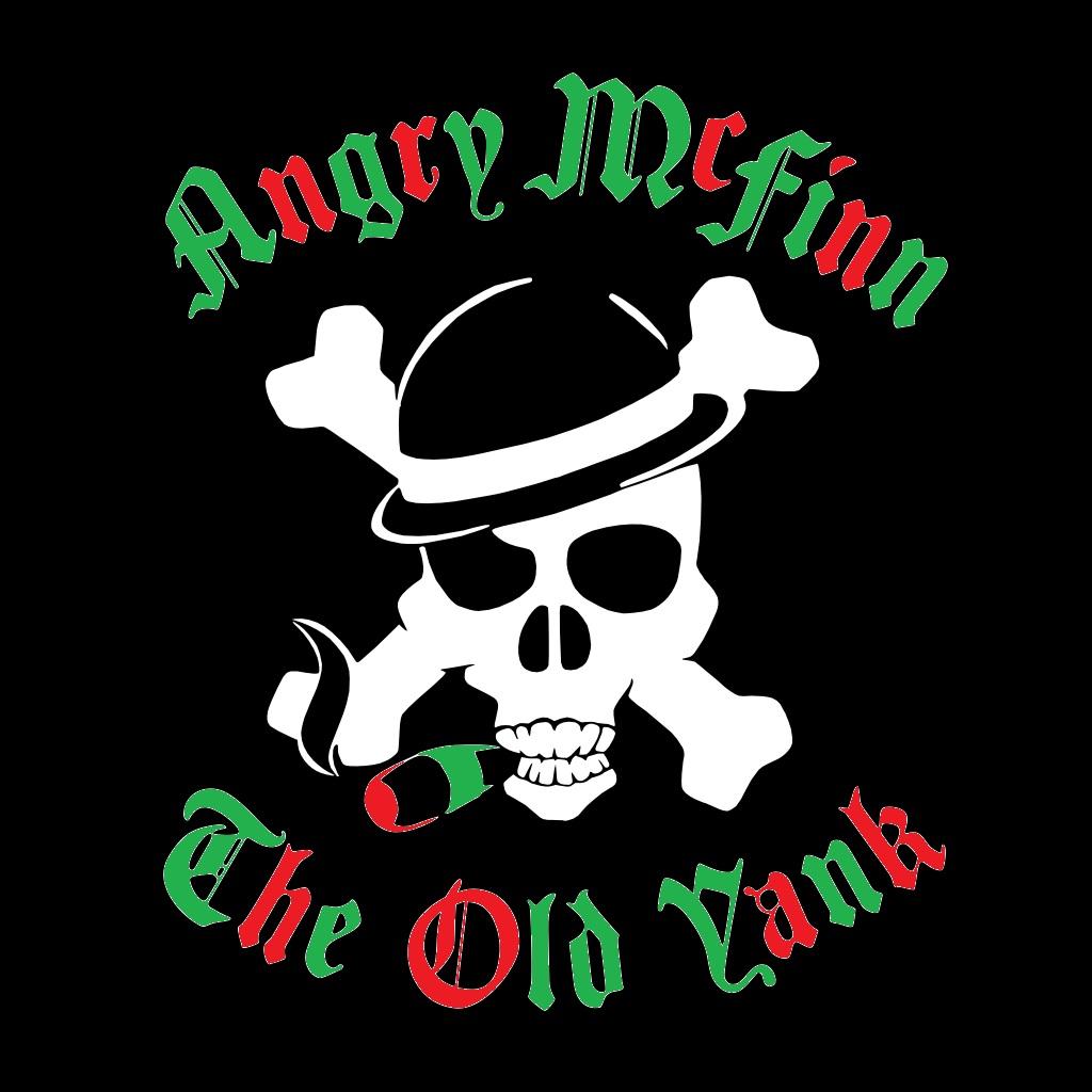 angry logo xmas colors